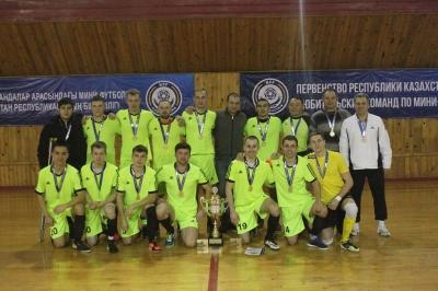 Постер к новости Первенство Казахстана по мини - футболу